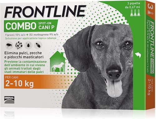 Frontline Combo Cani 2-10kg 3 Pipette - Arcafarma.it