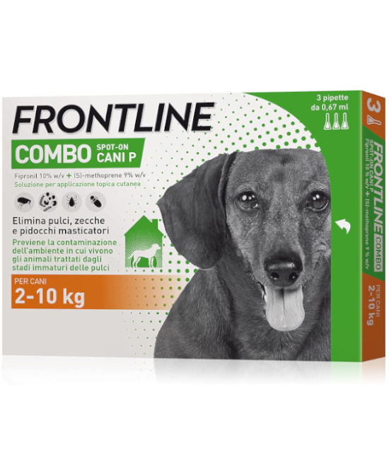 FRONTLINE COMBO CANI 2-10 KG - Farmaci.me
