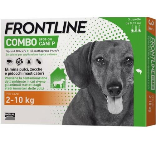 Frontline Combo Cani Piccoli 2-10kg 3 pipette - Nowfarma.it