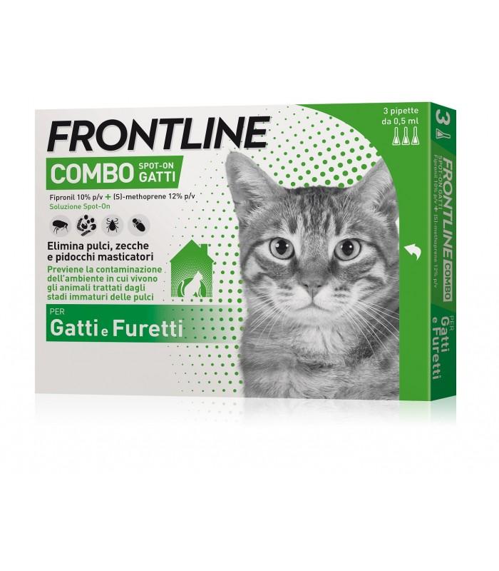 Frontline Combo Spoton Gatti - 3 Pipette - Nowfarma.it