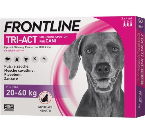 FRONTLINE TRI-ACT*3PIP4ML 20-40 kg - Nowfarma.it