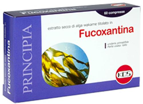 FUCOXANTINA 60 COMPRESSE - Farmacia Centrale Dr. Monteleone Adriano