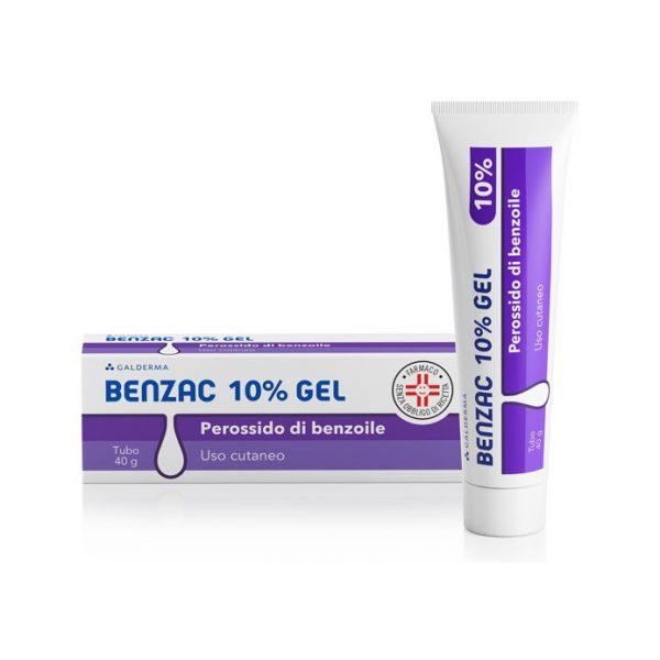 Galderma Benzac Gel 10% Disinfezione Della Cute Tubetto 40g - Zfarmacia