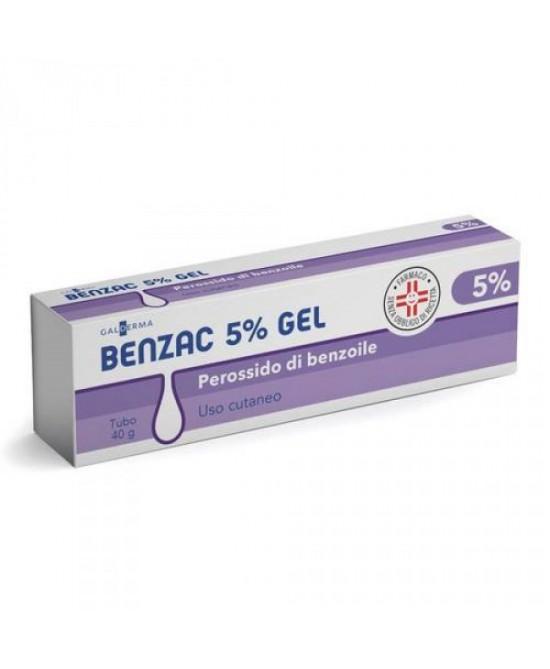 Galderma Benzac Gel 5% Disinfezione Della Cute Tubetto 40g - Zfarmacia