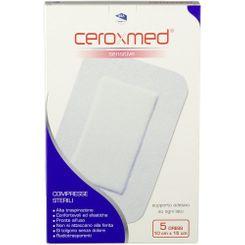 CEROXMED DRESS SENSITIVE COMPRESSE CON SUPPORTO ADESIVO 15X10CM - Farmapage.it