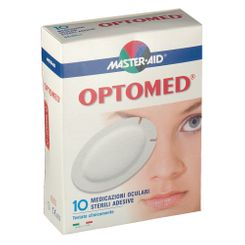 MASTER-AID OPTOMED GARZA OCULARE MEDICATA SUPER 10 PEZZI - Farmapage.it