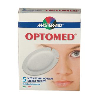 MASTER-AID OPTOMED GARZA OCULARE MEDICATA SUPER 5 PEZZI - Farmapage.it