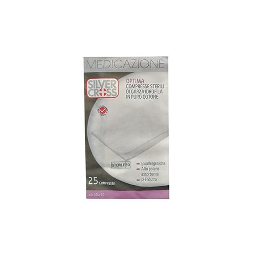 Garza Silvercross Cotone 10 x 10cm 25 Pezzi - Sempredisponibile.it
