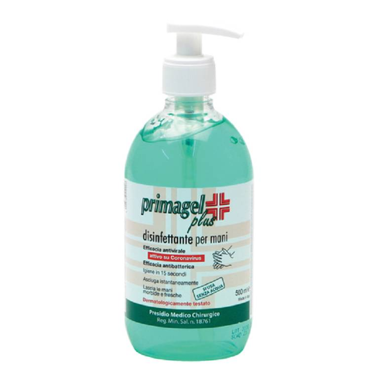 GEL DISINFETTANTE PRIMAGEL PLUS 500ML -