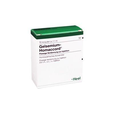 Gelsemium Homaccord Heel 10 Fiale - Farmalilla