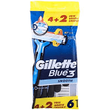 GILLETTE BLUE 3 USA&GETTAX4 - DrStebe