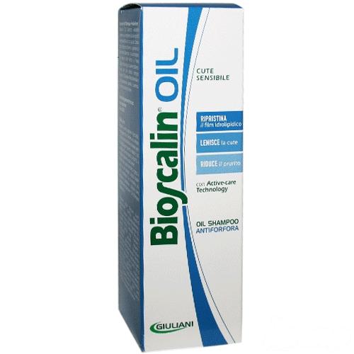 BIOSCALIN SHAMPOO OIL ANTIFORFORA 200 ML - Nowfarma.it