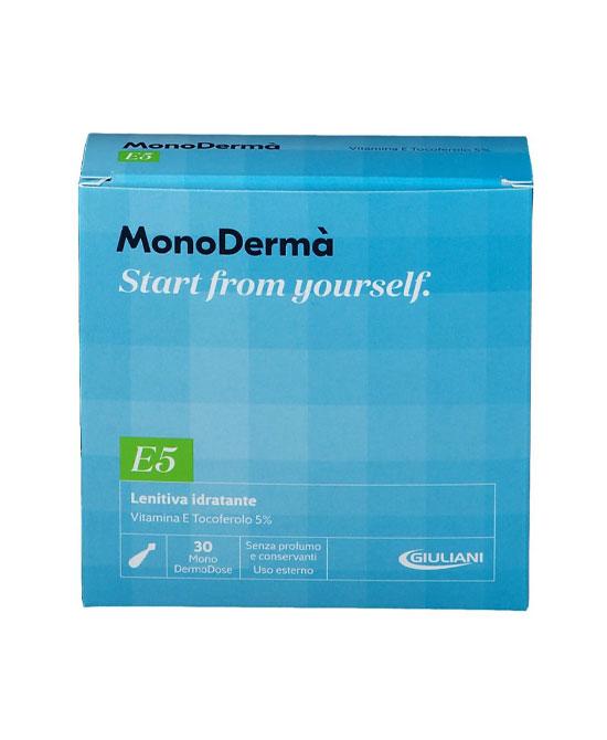 MonoDermà E5 Lenitiva Idratante 30 capsule 0,5ml - latuafarmaciaonline.it