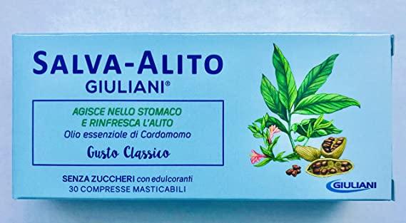 SALVA ALITO GIULIANI 30 COMPRESSE - Speedyfarma.it
