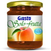 GIUSTO SOLO FRUTTA MARMELLATA ALBICOCCHE 284 G - Farmaunclick.it