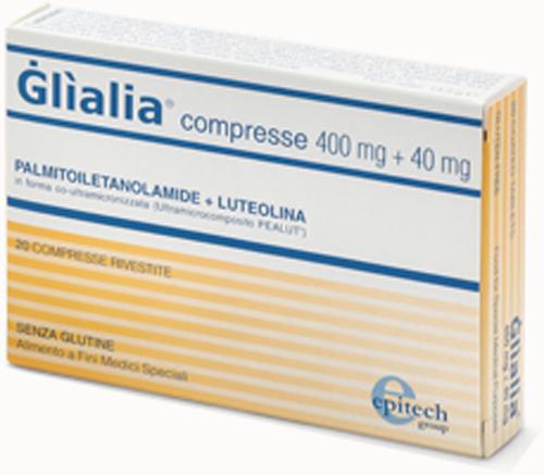 GLIALIA 400 MG + 40 MG 60 COMPRESSE - Farmacia Centrale Dr. Monteleone Adriano