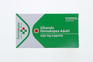 Glicerolo Farmakopea Adulti 2250mg 18 Supposte - Arcafarma.it