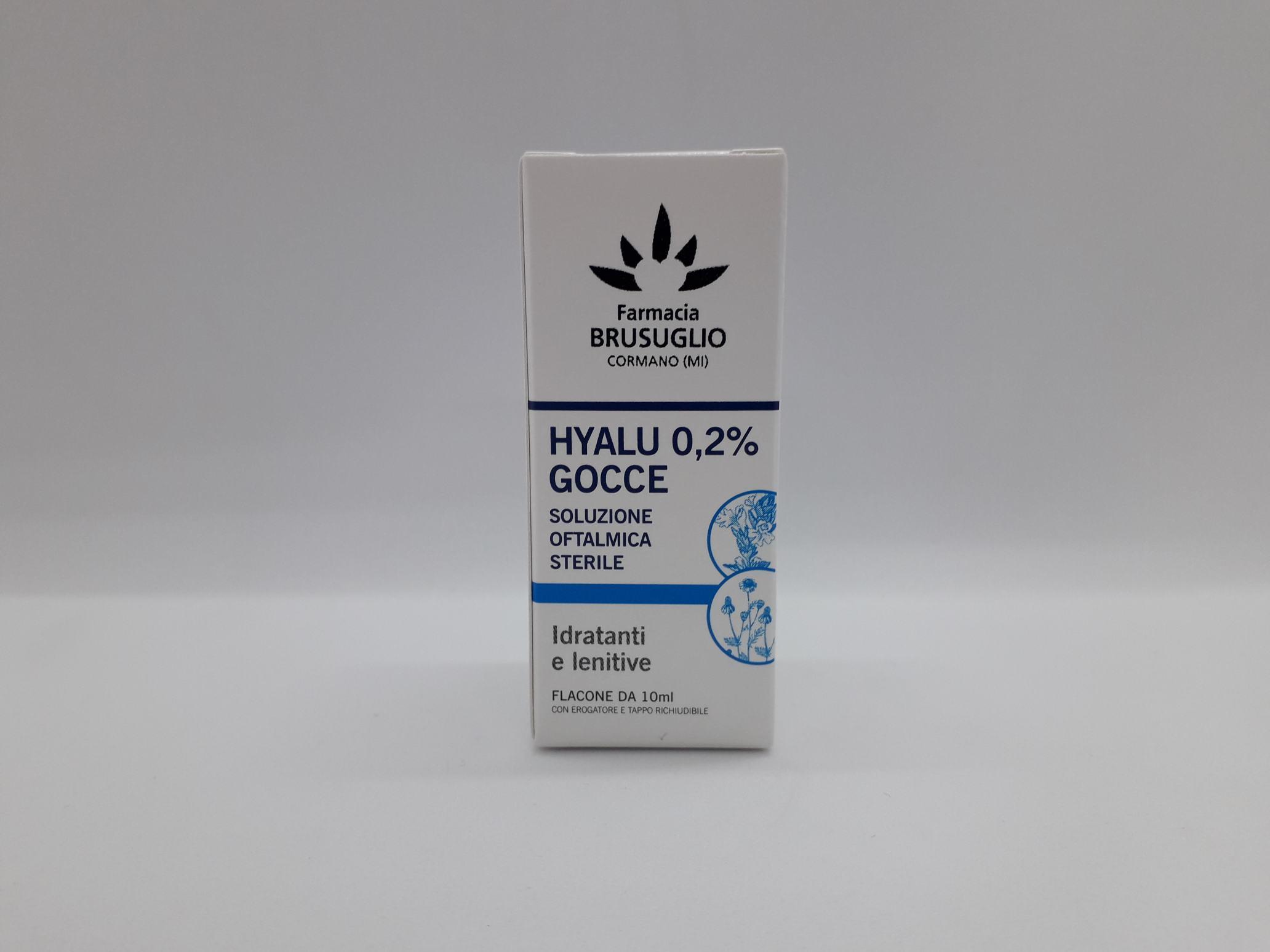 GOCCE OCULARI HYALU 0,2% 10 ML - Farmaciaempatica.it
