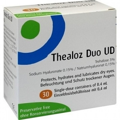 GOCCE OCULARI THEALOZ DUO UD 30 MONODOSI 0,4 ML - Speedyfarma.it
