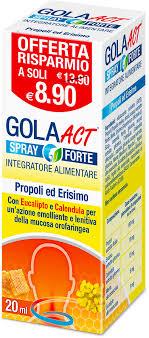 GOLA ACT SPRAY FORTE 20 ML - Spacefarma.it