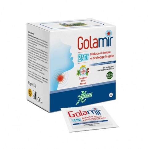 GOLAMIR 2ACT 20 COMPRESSE OROSOLUBILI DA 1,5 G - Farmawing