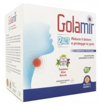 GOLAMIR 2ACT 20 COMPRESSE OROSOLUBILI DA 1,5 G - Farmaciacarpediem.it
