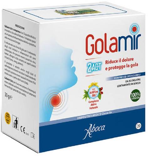 GOLAMIR 2ACT 20 COMPRESSE OROSOLUBILI DA 1,5 G - Farmacia Centrale Dr. Monteleone Adriano