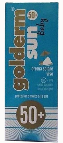GOLDERM SUN BABY SPF 50+ CREMA VISO 50 ML - Farmacia Centrale Dr. Monteleone Adriano