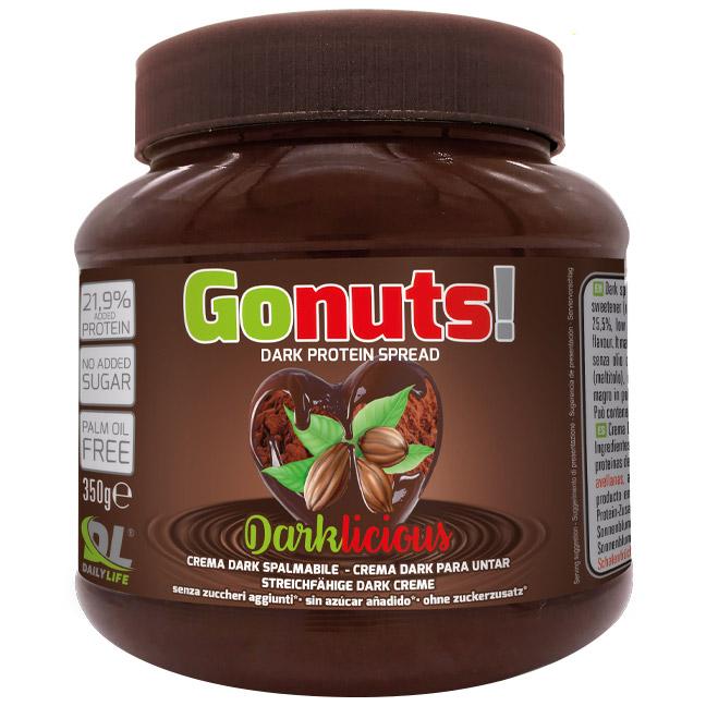 GONUTS DARKLICIOUS FONDENTE 21,9% 350 G - Farmacia Massaro