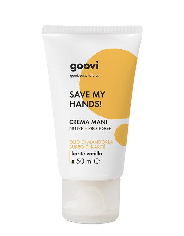 Goovi crema mani nutre+protegge 50 ml - Farmacia Castel del Monte