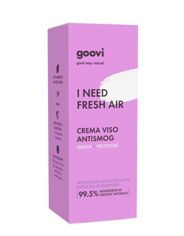 GOOVI I NEED FRESH AIR CREMA VISO ANTISMOG 50ML - Farmacia Castel del Monte