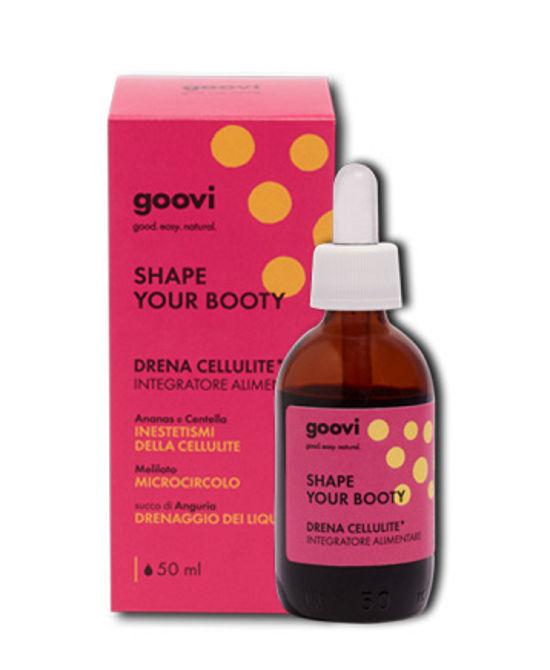 GOOVI SHAPE YOUR BOOTY DRENA CELLULITE 50ML - Farmaci.me