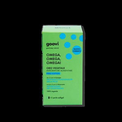 Goovi Soft Gel Omega 60 Perle Soft Gel - Arcafarma.it