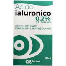 GR FARMA GOCCE OCULARI IDRATANTI E RINFRESCANTI ACIDO IALURONICO - farmaciafalquigolfoparadiso.it
