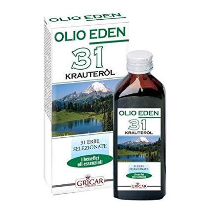 GRICAR OLIO EDEN 31 ERBE 100ML - Iltuobenessereonline.it