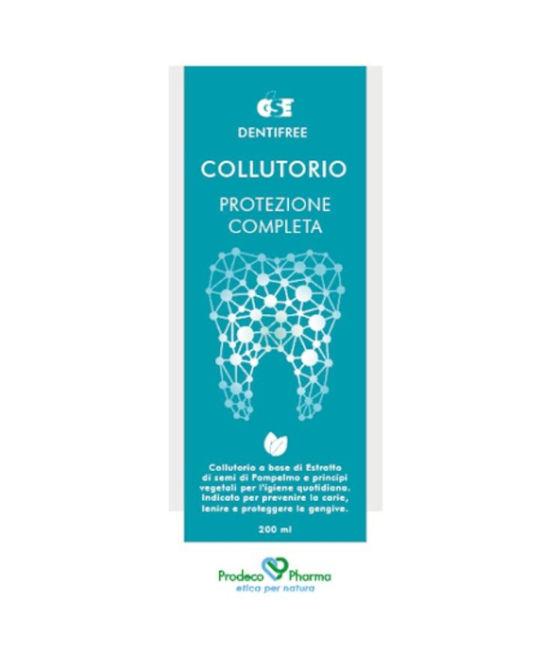 GSE DENTIFREE COLLUTORIO 200 ML - Farmaci.me