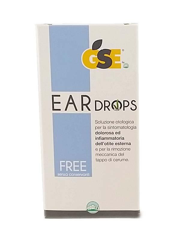GSE Ear Drops Free 10 Pipette da 0,3ml - Arcafarma.it