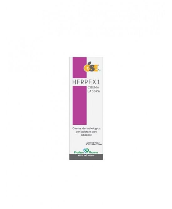 GSE HERPEX 1 CREMA LABBRA 7,5 ML - Farmacia Bartoli
