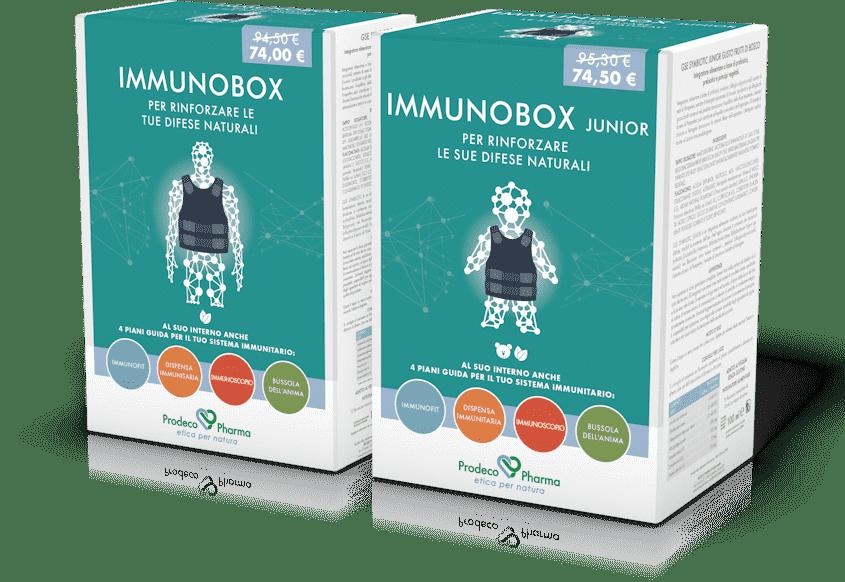 IMMUNOBOX 2 GSE IMMUNOBIOTIC 30 COMPRESSE + GSE SYMBIOTIC 3 FLACONI - Farmacianuova.eu
