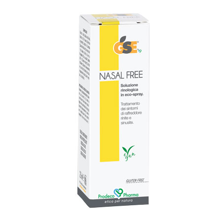 Gse Nasal Free Soluzione Rinologica Spray 20 ml - Farmastar.it