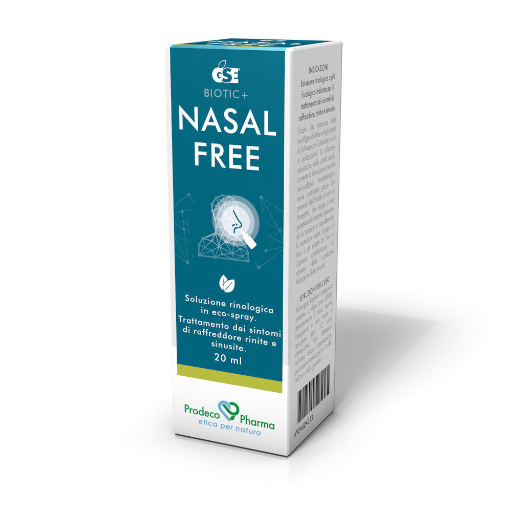 Gse Nasal Free Spray 20ml - Farmaci.me