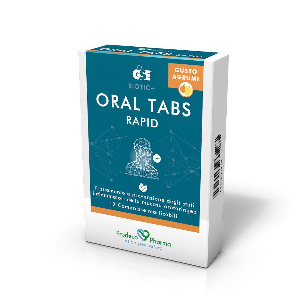 GSE ORAL TABS RAPID 12 COMPRESSE - Farmaci.me