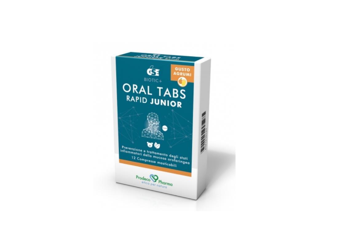 GSE ORAL TABS RAPID JUNIOR 12 COMPRESSE - farmaciadeglispeziali.it