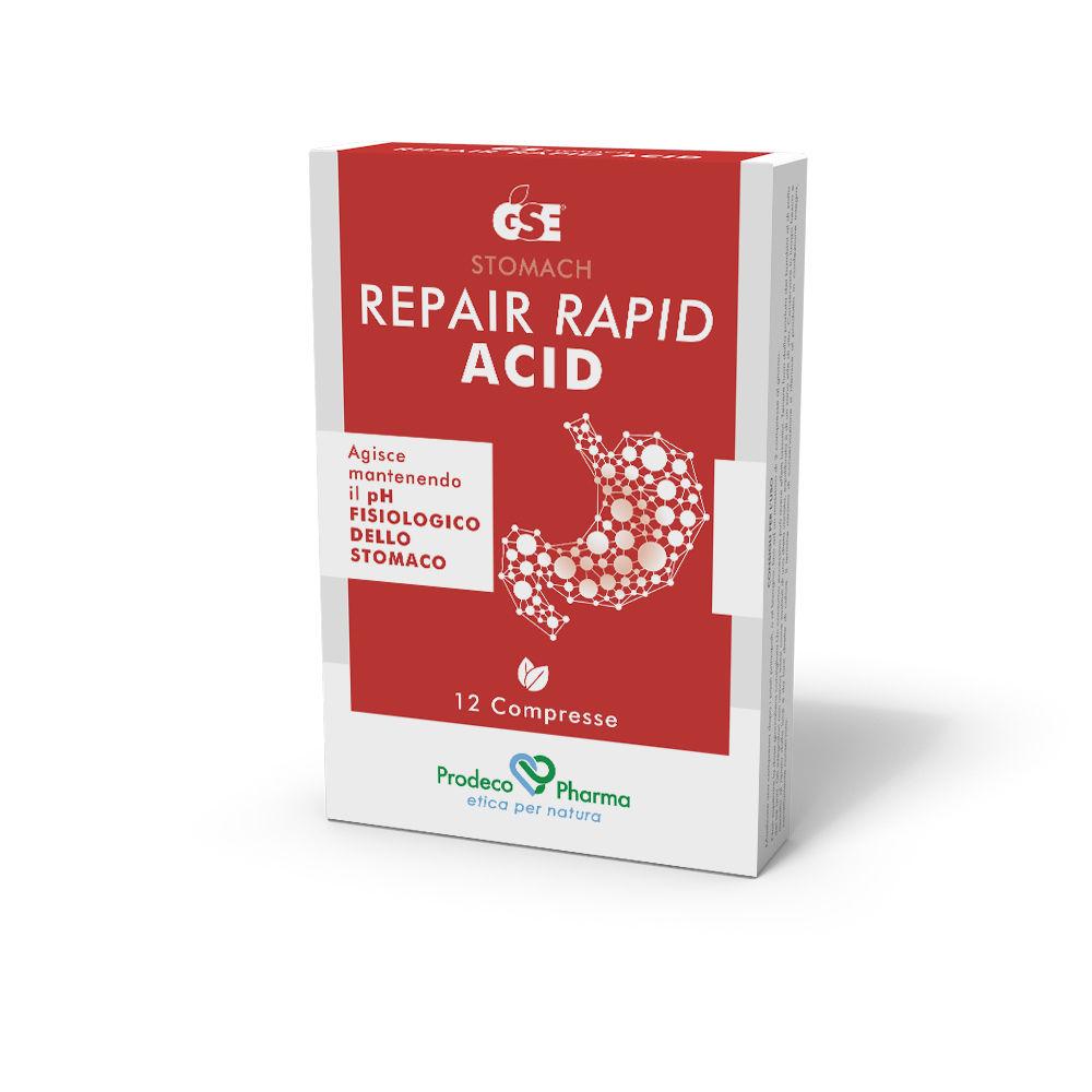 [ Reflusso Gastroesofageo] GSE REPAIR RAPID ACID 12 COMPRESSE - Farmaci.me
