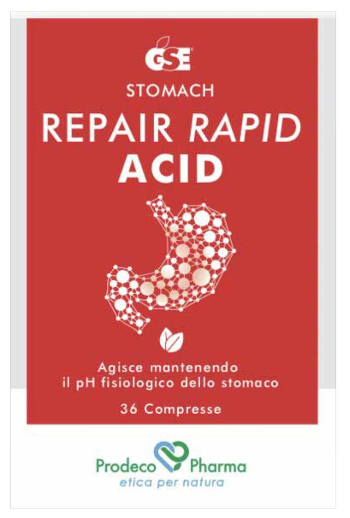 [Reflusso Gastroesofageo] GSE REPAIR RAPID ACID 36 COMPRESSE - Farmaci.me