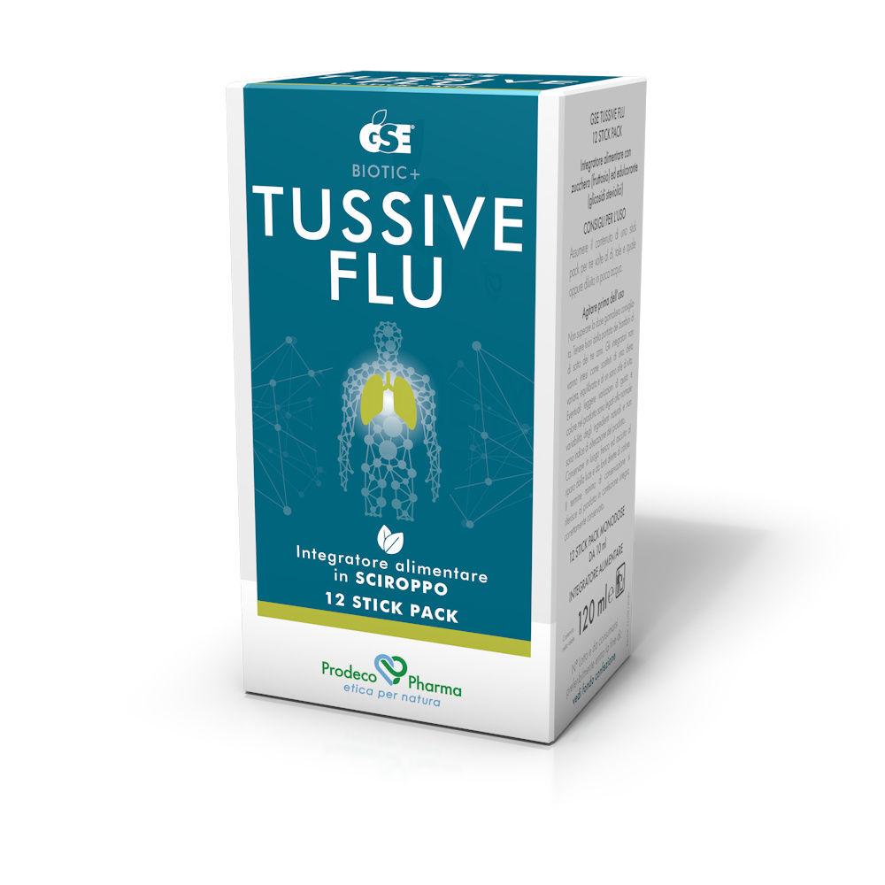 [Tosse Grassa] GSE TUSSIVE FLU 12 STICKPACK - Farmaci.me