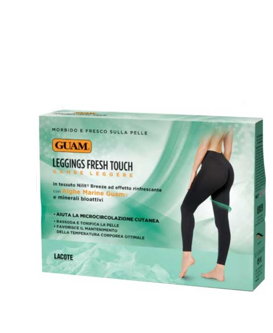 Guam Leggings Fresh Touch Gambe Leggere S/M 42-44 1 Pezzo Nero - latuafarmaciaonline.it