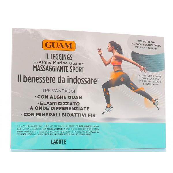 Guam Leggings Massaggiante Sport Taglia S-M (42-44) - Sempredisponibile.it