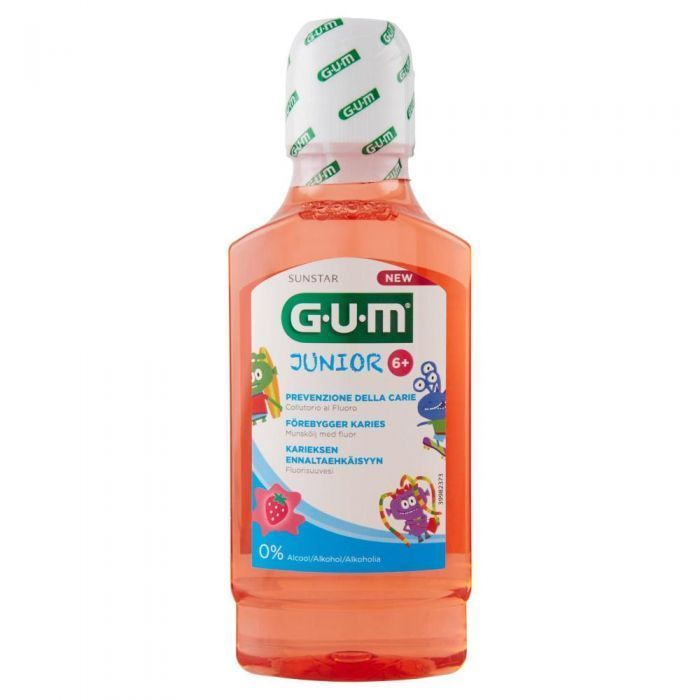 GUM JUNIOR COLLUTORIO 300 ML 6+ - Iltuobenessereonline.it