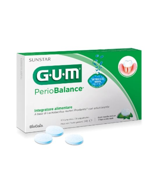 GUM PERIOBALANCE 30 COMPRESSE - Farmapage.it